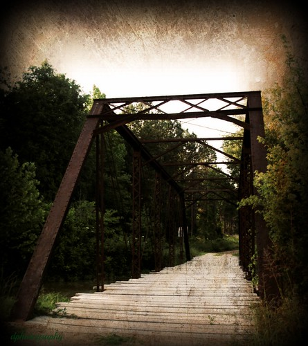 Old Iron Bridge....