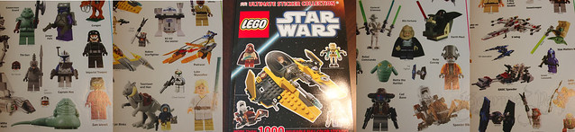 Lego Star Wars Stickers