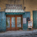 <p>We didn't eat at this pizza joint, but the facade had an old world charm.</p>
