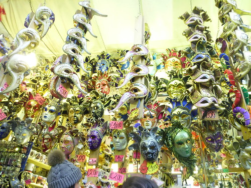 The Many Masks by rachlyf
