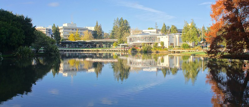 University of Waikato - Autumn Morning - Nex