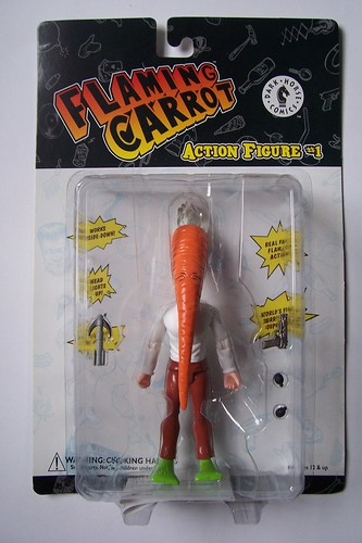 "DARK HORSE COMICS::   ""Flaming Carrot"" Action Figure // ..ebay pic  (( 1999 ))"