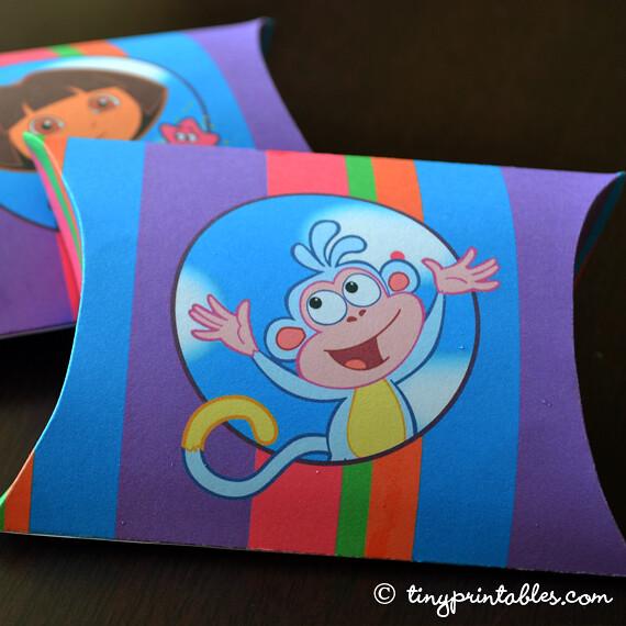 Dora Explorer Printable Coloring Pages