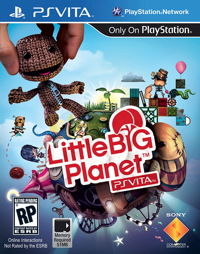 LittleBigPlanet for PS Vita: Box Art