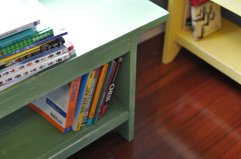 Stardustshoes Bookshelf Bench