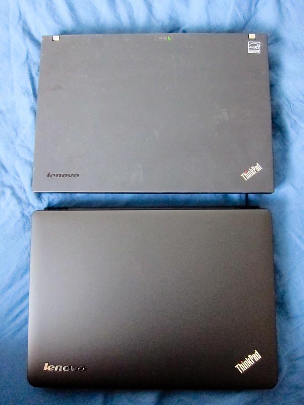 ThinkPad X121e vs ThinkPad X200s