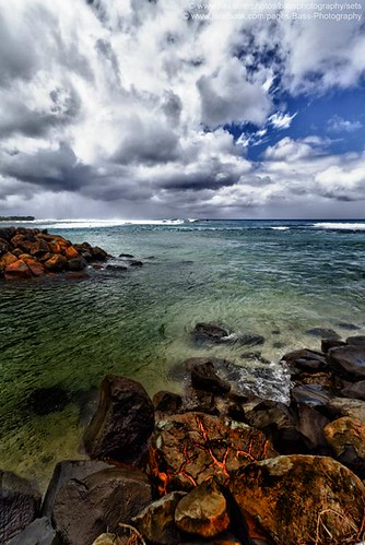 sea clouds port capital shoreline tropical cookislands rarotonga hdr pacificislands avarua southpacificislands