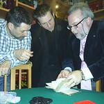 """Con Shawn Farquhar y Miguel Aneas en """"El Capricho"""""""