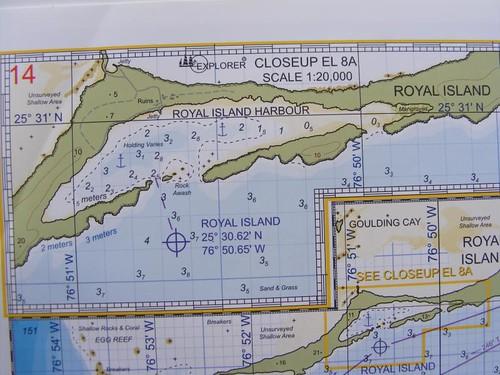 Navigational chart overview
