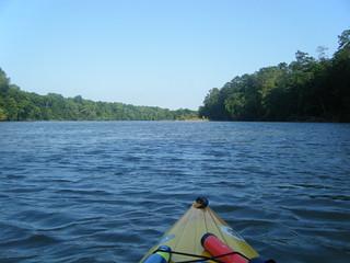 Broad River Paddling May 26, 2012 6-45 PM
