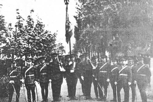 Jurămant recruti pompieri militari / Bucuresti -1935
