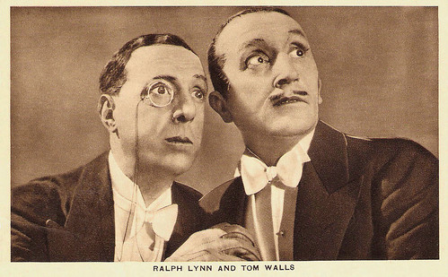 Ralph Lynn, Tom Walls