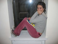 rachel in window