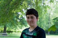Clayton Smiled
