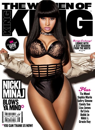 Nicki-Minaj-Sexy-Hot-Cover-For-King-Magazine