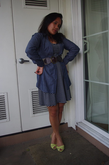 OOTD: Stripes & Chambray