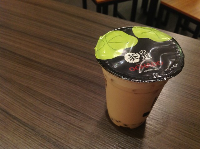 Ochado Signature Bubble Tea @ Paradigm Mall