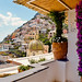Balcony View of Positano at Le Sirenuse