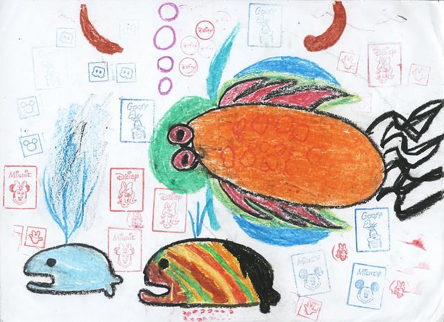 倩愉画的鱼1