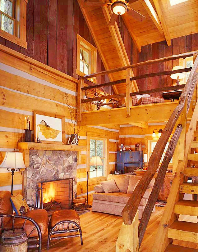 love this cabin!