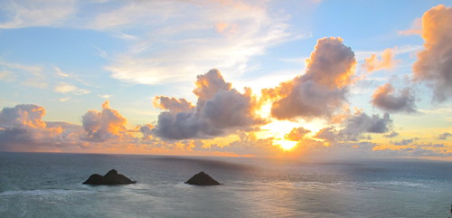 Sunrise from the Pillboxes