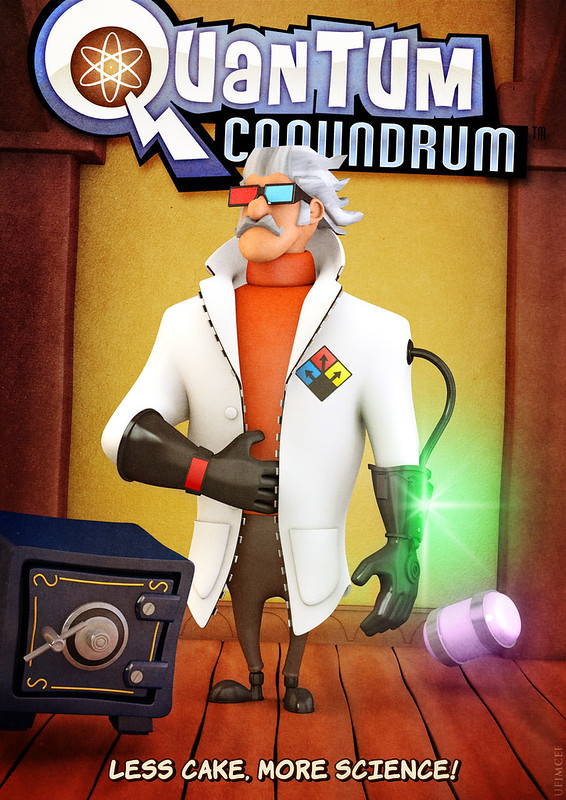Quantum Conundrum Now Available for PlayStation 3 and Xbox 360