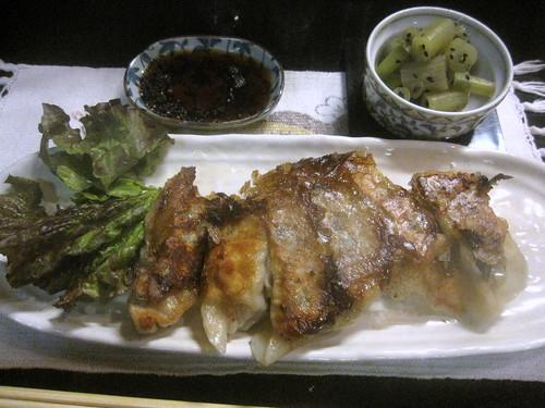 練馬野菜餃子@味菜(練馬)