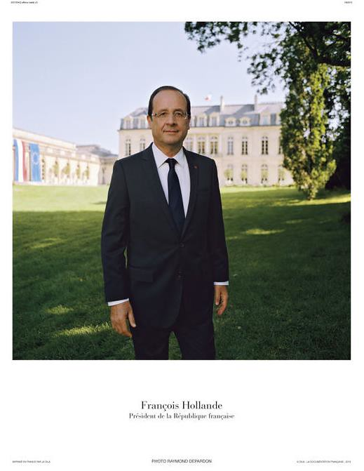 Portrait+officiel+François+Hollande+Depardon