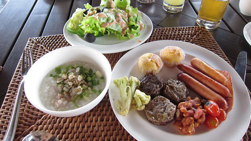 Koh Samui Kandaburi Resort Breakfast サムイ島カンダブリリゾート 朝食