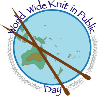 World Wide Knit In Public Day June 9th, 2012