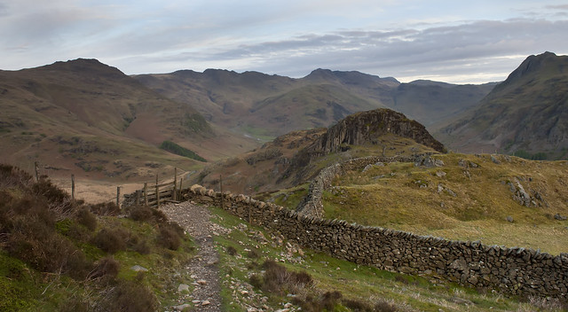 Side Pike and the Head of Great Langdale