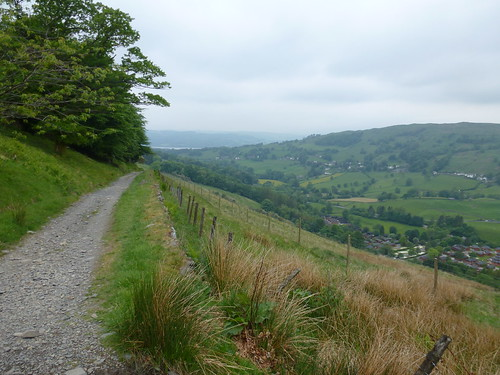 Troutbeck Valley - path