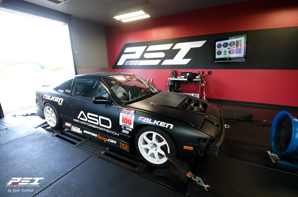 TYGR Racing on the dyno at PSI