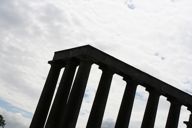 Columns on the hill