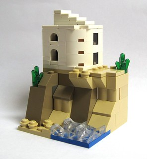Villa on a cliff (microscale)