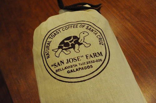 Coffee, San Jose Farm, Galapagos