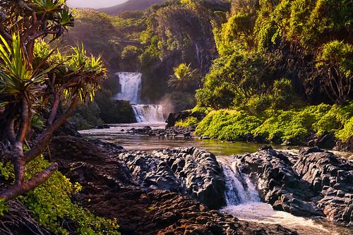 hawaii maui falls hana sevensacredpools pipiwaitrail oheogulch haleakalanationalpark 7sacredpools nikon2470mm nikond700 7poolsofoheo