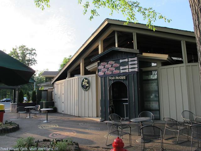 Pond House Cafe exterior