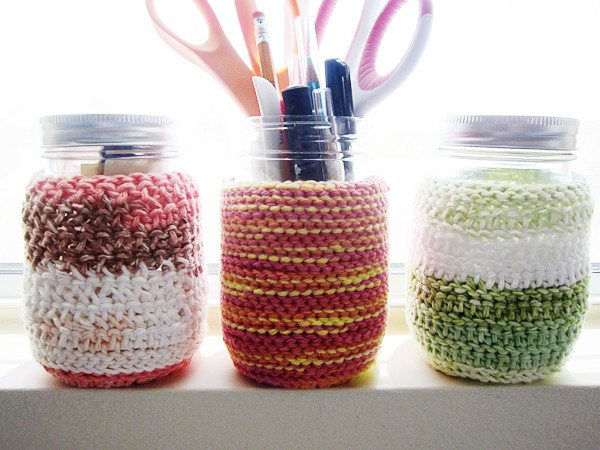 crochet coozies