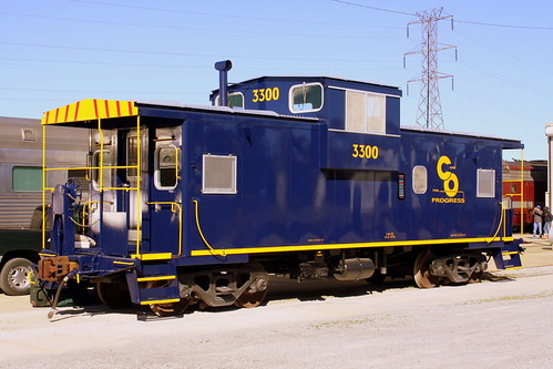 Restored C&O Caboose - TCRY Museum