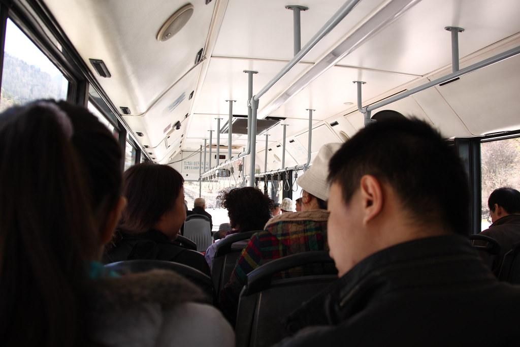 九寨溝園内グリーンバス