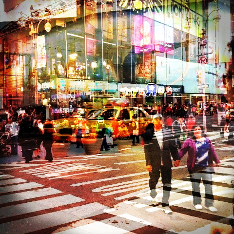 New York City by Iphone