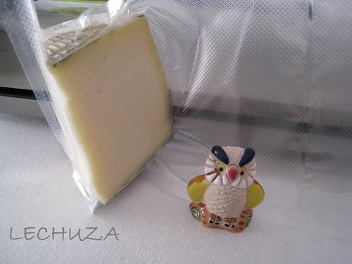 Cuña queso al vacío