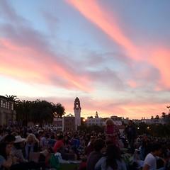 Dolores Park sky #latergram