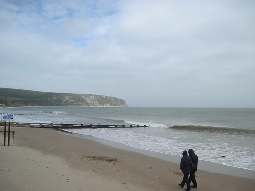 Beachside in Swanage
