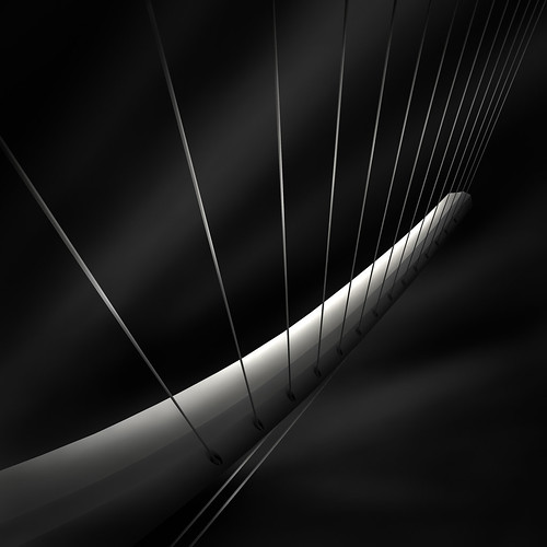like a harp's strings IV  - radiating