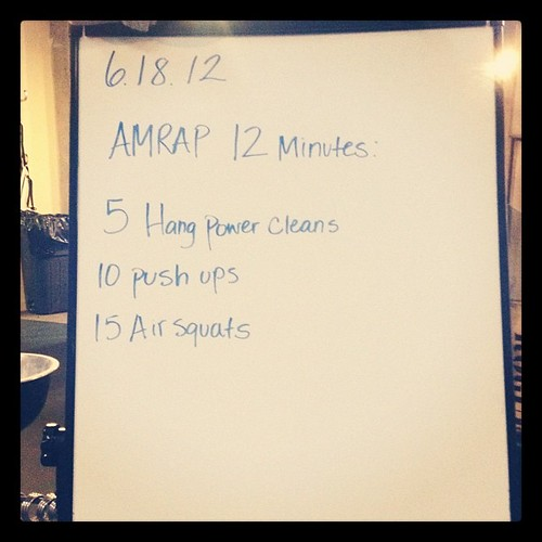 Happy Monday!! #crossfit #wod
