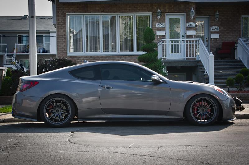 Ray's 19'' Gram Lights 57 Xtreme + tires - Canada - Hyundai Genesis