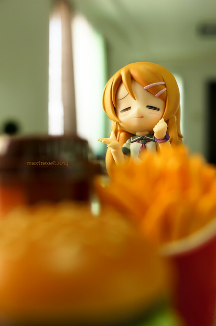Cu-poche Kirino of Kotobukiya and her Mcdonald's Happy Meal