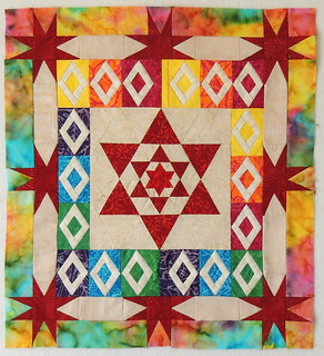 Quilt #2 - what I added